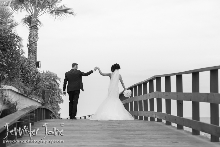 wedding beach shoot el ocean mijas costa